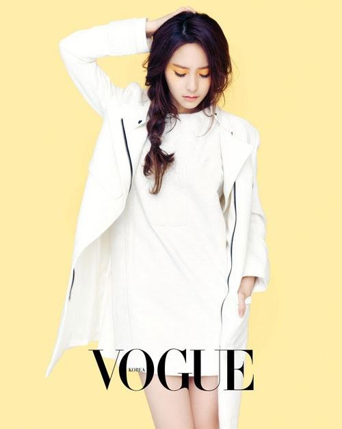 f(x) 크리스탈, 성숙미 넘치는 화보 공개 '눈부셔~' - 모이자 뉴스 F(x) Krystal 2013